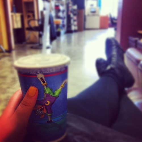 sitting at #work, #alone #bored  (Taken with instagram)