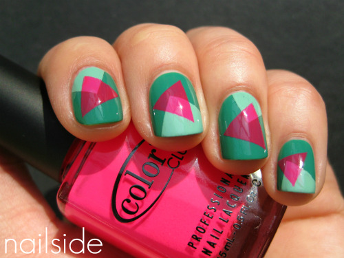 nailside:  Abstract '80s  I'M IN LOVE WITH THESE AHHHH