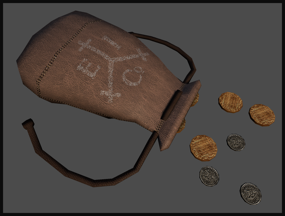 Woop coin pouch in marmoset :D i am pretty damn happy with this one.