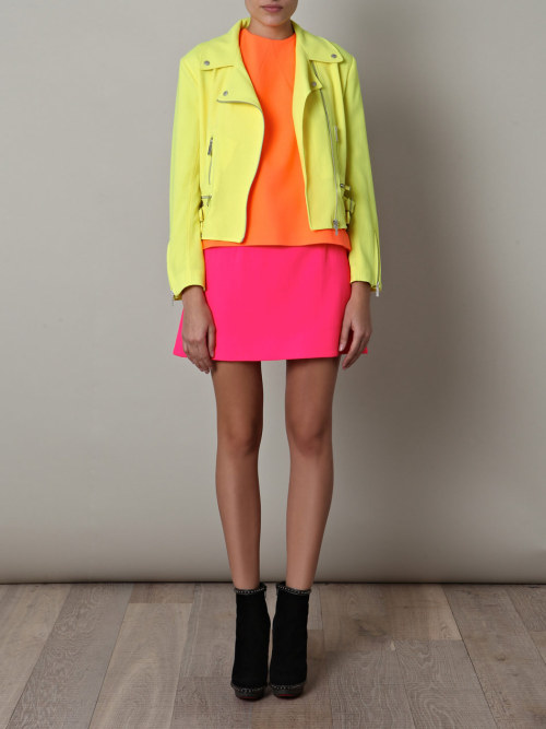stylecentric:  neon biker by christopher k. love.