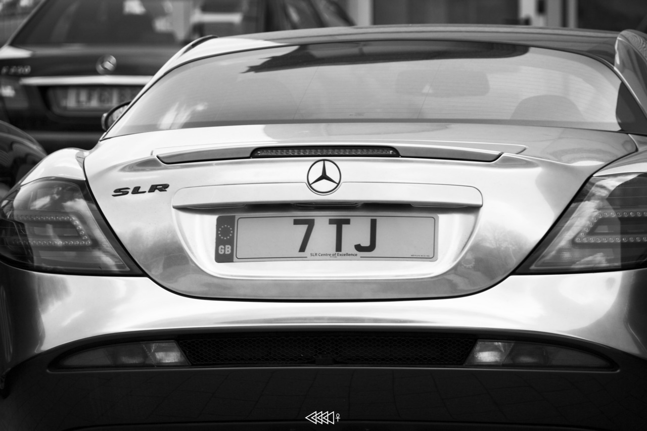 Thestrippervicar: Mercedes SLR 700 Edition Great angle on a great car..By the way, I think you mean 722 edition. Anyway, thanks for the submission!