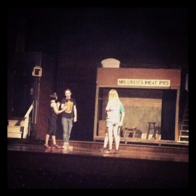 Practice (Taken with Instagram at Lyric Theater)