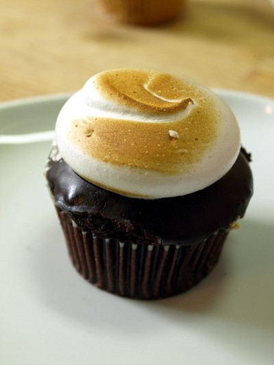 chocolate smore cupcake by The Bleeding Heart Bakery on Flickr.