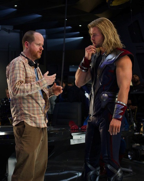 chrishemsworth:  Chris Hemsworth as THOR on set of THE AVENGERS (2012)