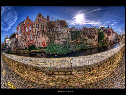 #brugge Bended City  on Flickr