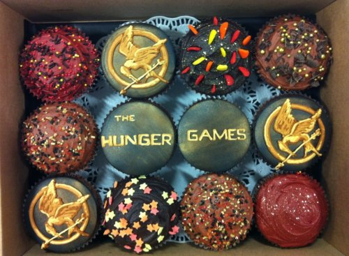 Hunger Games Cupcakes!!!