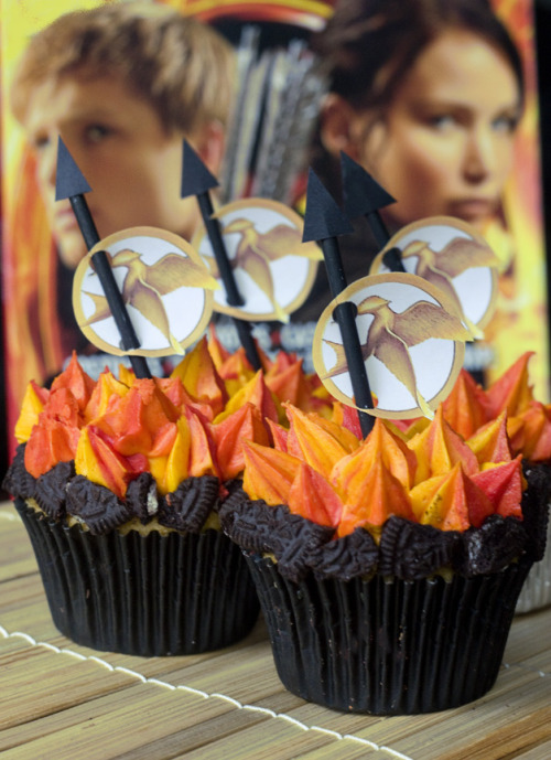 Hunger Games Cupcake Recipe! (recipe)