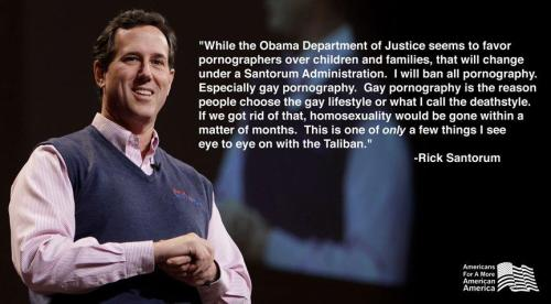 ihopericksantorum:  obama has just won the election.  The Frothmeister!