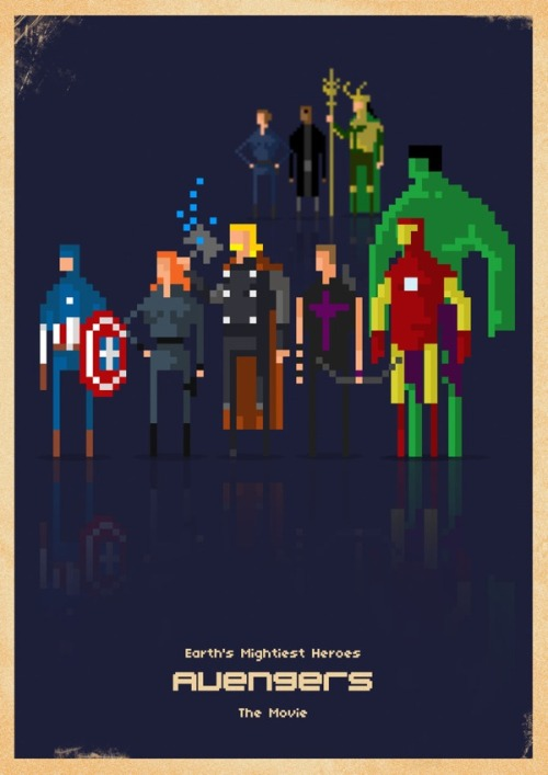 The Avengers | Marvel Pixel Superheroes