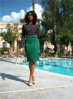 blackandkillingit:  blackfashion:  Poolside Glam by Javicia Leslie  Black Girls Killing It Shop BGKI NOW  I need to go shopping