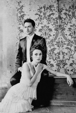 James McAvoy & Keira Knightley —Vanity Fair, 2007