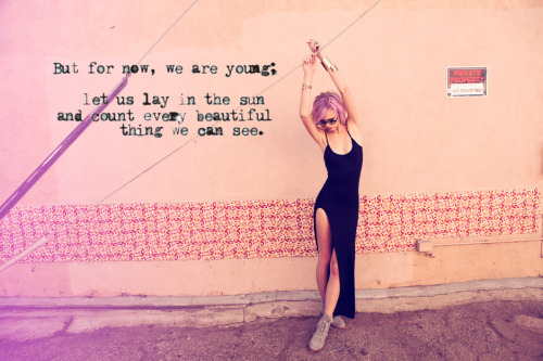 Happy Monday.  Image Planet Blue S/S'12 + quote added