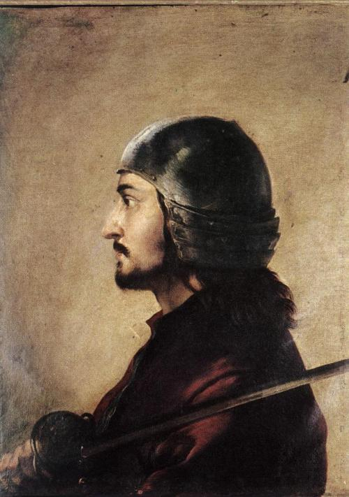 cavetocanvas:  Salvator Rosa, Warrior