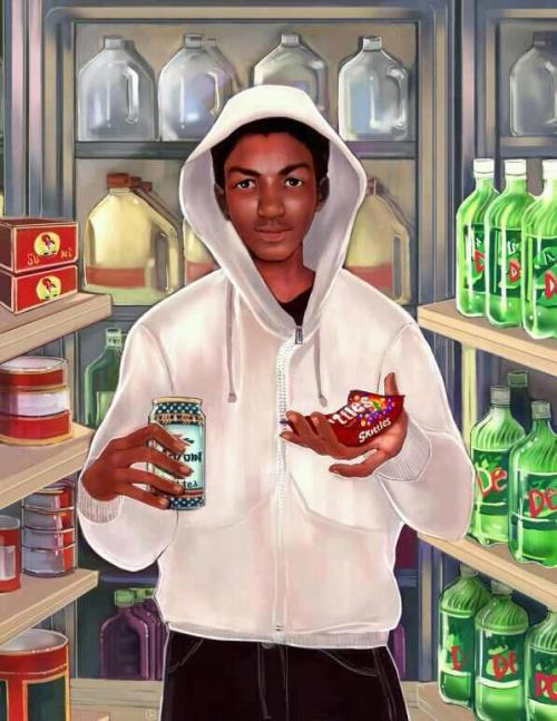 moneypowerswag:  devynealeah:  R.I.P. Trayvon Martin much love goes out to you  WRD UP ^
