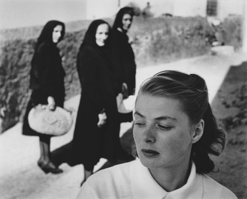 ambientclouds:   Ingrid Bergman at Stromboli - Gordon Parks