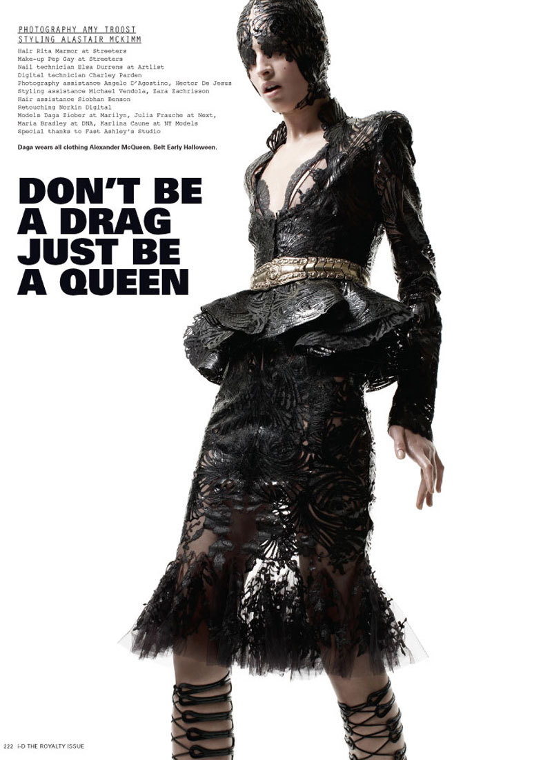 jesuistrescool:  Don't be a Drag just be a Queen.