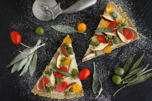 Rutabaga and Crispy Sage Pizza