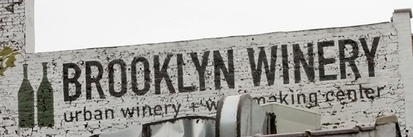 Brooklyn Winery. Williamsburg.