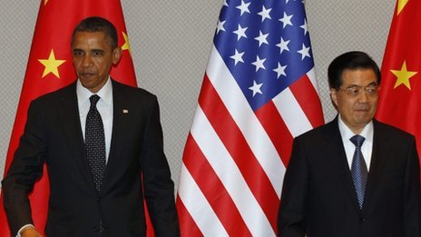 "Obama and Hu to co-ordinate on North Korea rocket launch China and the US have agreed to co-ordinate their response to any ""potential provocation"" if North Korea goes ahead with a planned rocket launch, the White House says. North Korea says the long-range rocket will carry a satellite. The US says any launch would violate UN resolutions and be a missile test. US President Barack Obama and Chinese President Hu Jintao met on the margins of a nuclear summit in South Korea. The launch is scheduled for April. Its timing - between 12 and 16 April - is intended to mark the 100th anniversary of the birth of North Korea's late Great Leader Kim Il-sung. 'Destabilising' The White House said Mr Hu indicated to Mr Obama that he was taking the North Korean issue very seriously and was registering China's concern with the government in Pyongyang. ""We both have an interest in making sure that international norms surrounding non-proliferation, preventing destabilising nuclear weapons, is very important,"" Mr Obama said ahead of the meeting."