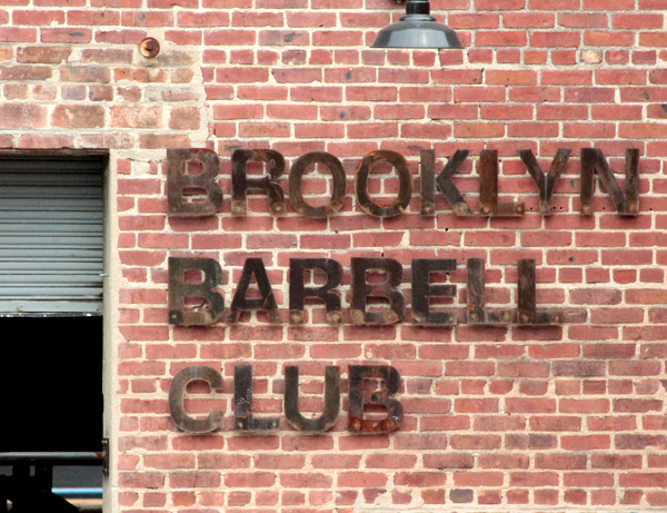 Brooklyn Barbell Club.
