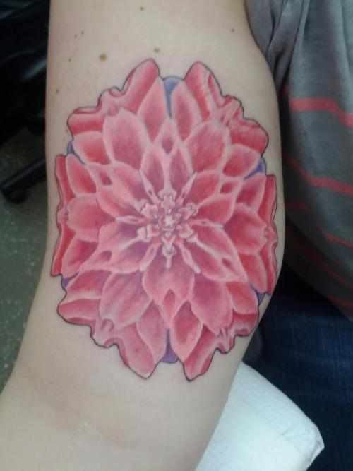 My 5th tattoo of a Mandala Flower that is starting a half sleeve and a coverup. Done at Black Swan Tattoo in Lakeland, FL by Mike. :D