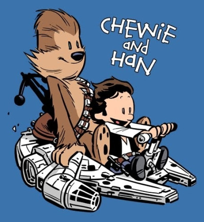 Han and Chewie want more? check out this blog.