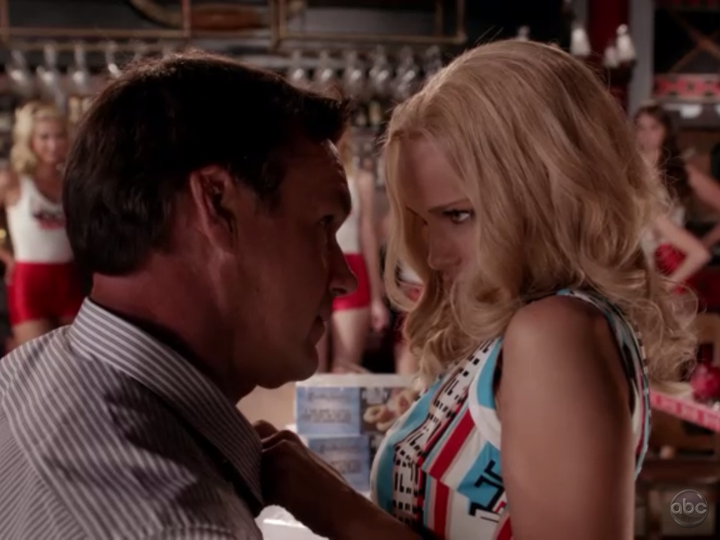 just finished episode two of gcb.i hope nothing happens to this couple 'cause i love them.