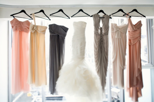 effortlessly-beautiful:  Find stunning gowns for your bridesmaids HERE.