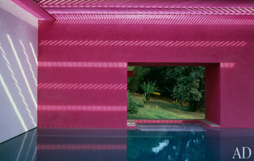 Indoor/Outdoor Pool, Ricardo Legorreta