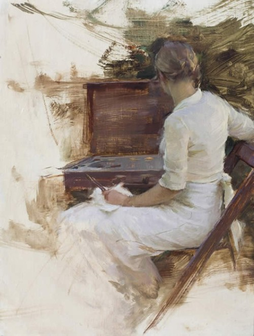 wasbella102:  By Jeremy Lipking