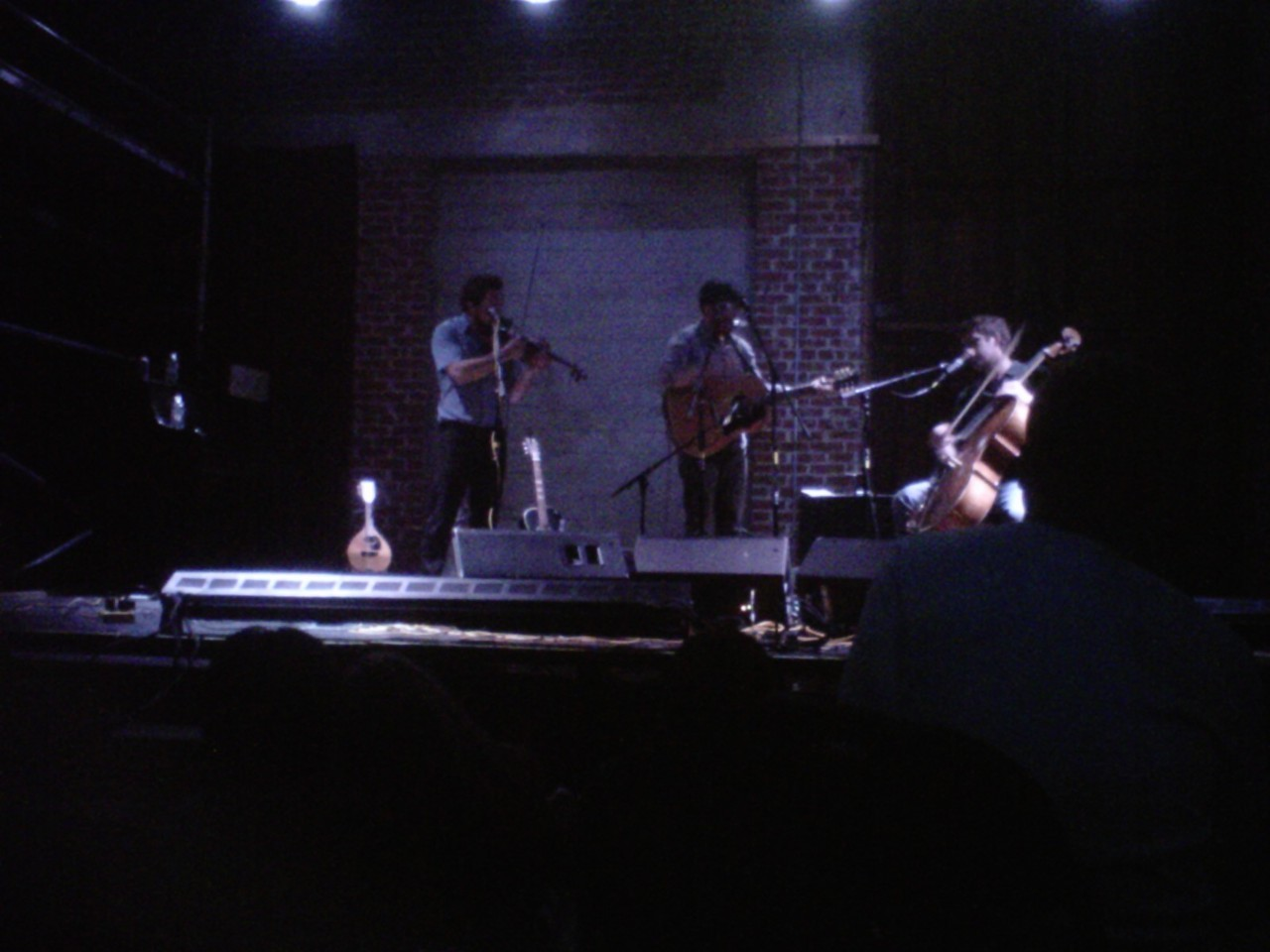 Amazing Gregory Alan Isakov show with my best friend. Couldn't ask for more.