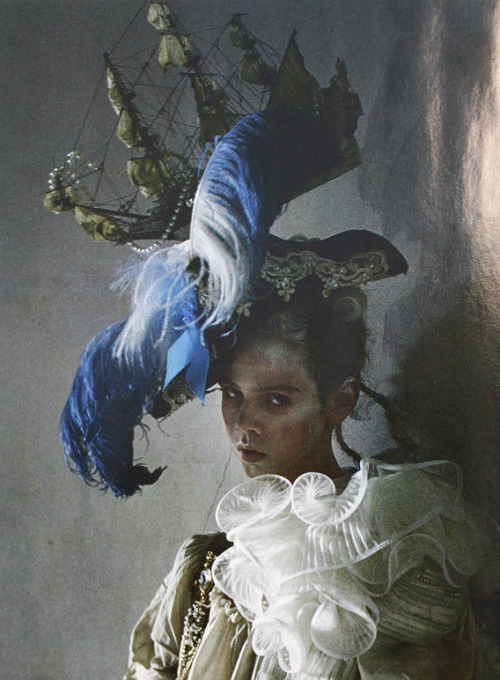 "the-moth-princess:  ""Lady Grey"" by Tim Walker"