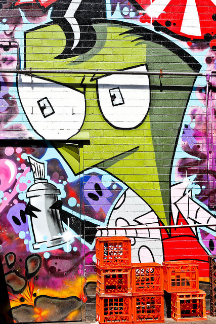 Melbourne Graffiti-2346.jpg on Flickr.