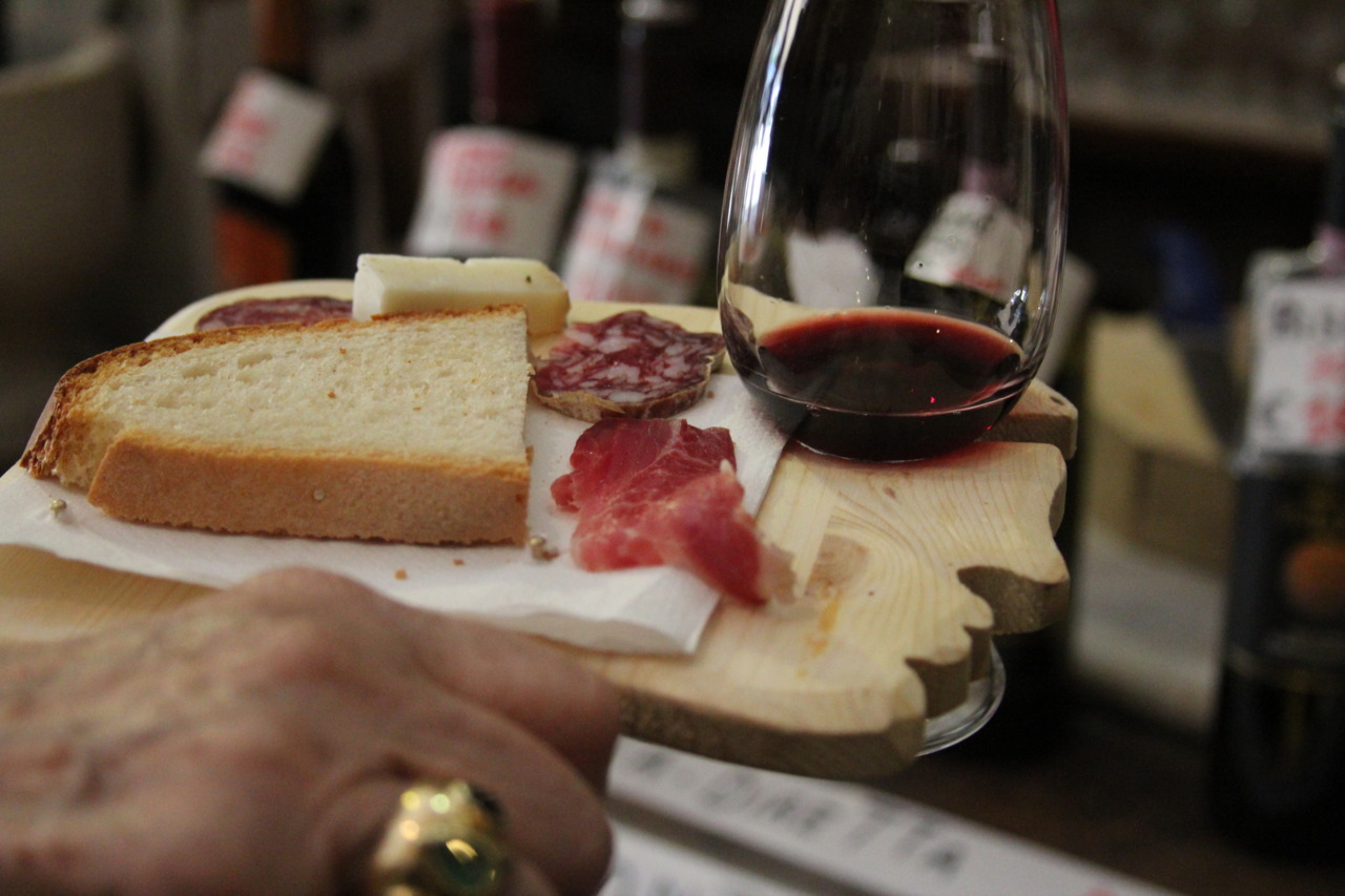 akammerling:  Wine/ food tasting in Montepulciano