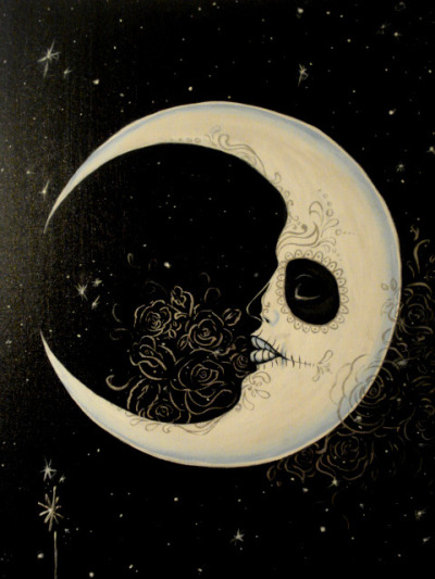 tattoome:  dead moon inspiration