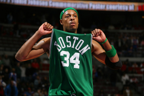 igot99problemsandtheyallbitches:  I hope Paul Pierce retires as a Celtic. Loyalty over everything.