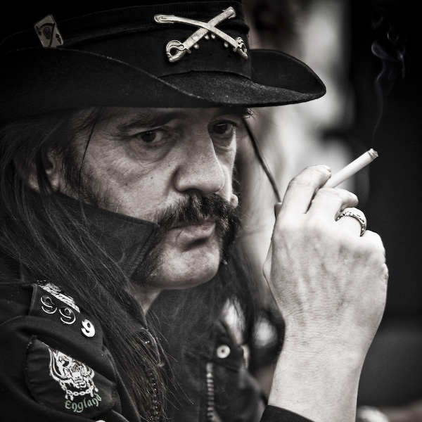 """Lemmy"" Kilmister wants to Lemmy Kilmister!! This Man is a One with the Bass"