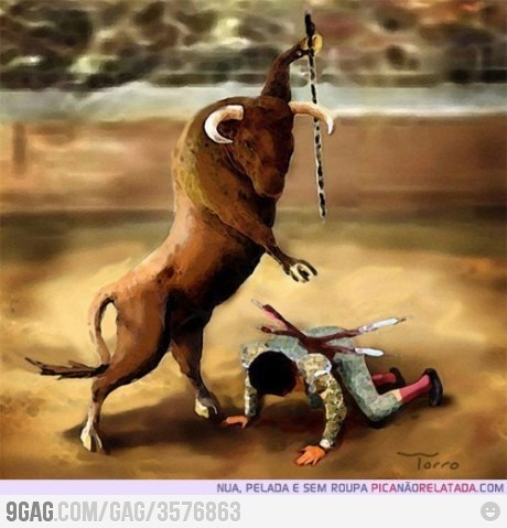 Bullfighting, the right way.