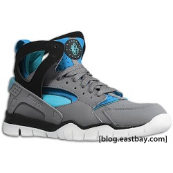 Nike Air Huarache Basketball 2012 - Stealth/Turquoise-Neptune Blue heat