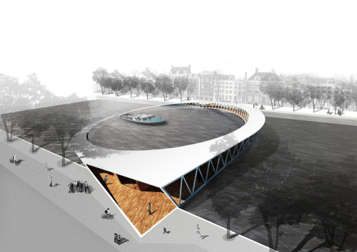Pedestrian Bridge Winning Proposal