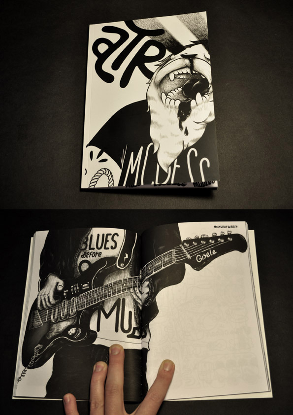 "MR.WALTER in ""L'ATTRAPE REVE FANZINE"" ISSUE#4 with MCBESS, MOOE, ELSA MAHE, REY ET MUTT, SERGEANT PAPER………"