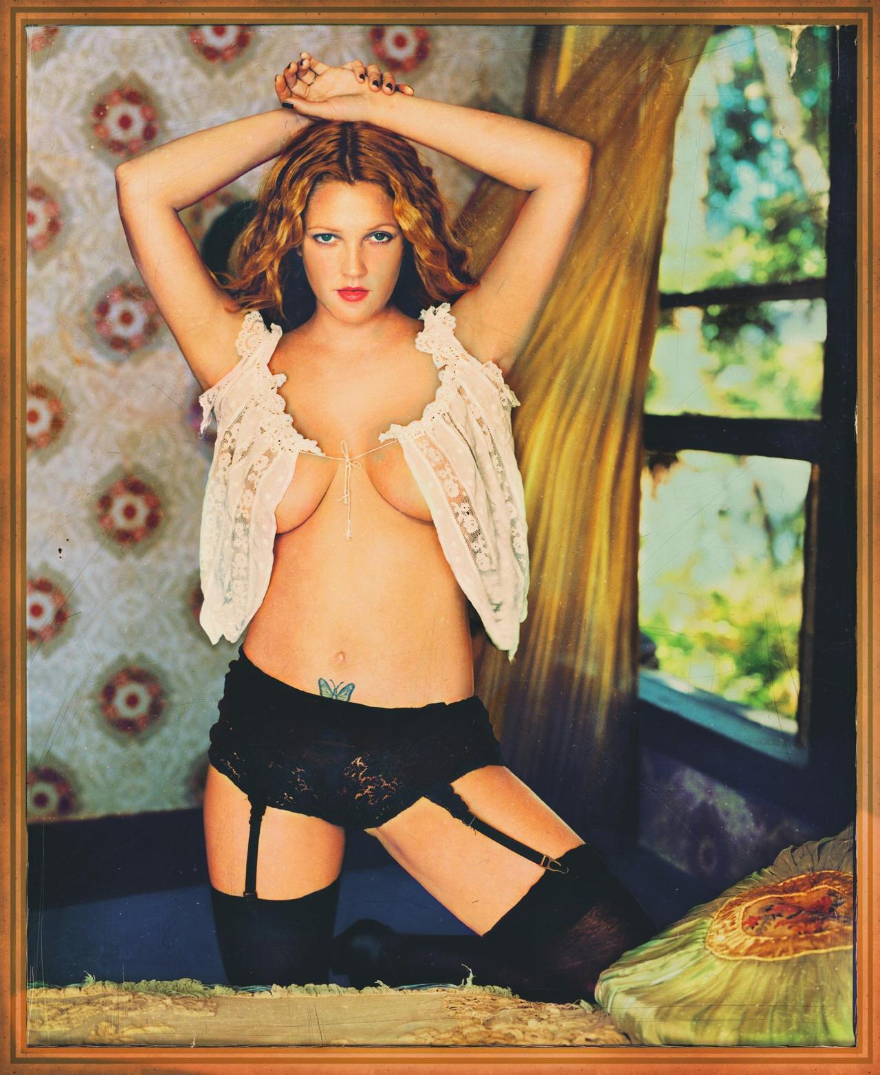 Drew Barrymore - Rolling Stone by Mark Seliger, November 23rd 2000