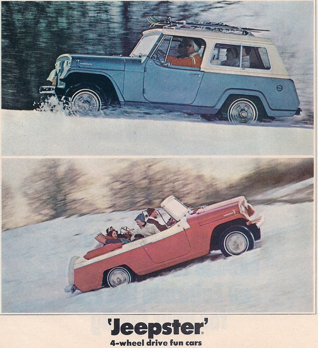 murdercycles:  Jeepster in Winter Popular Science  12-67