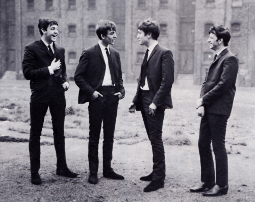 SCAN - September 1962 photoshoot in Liverpool. Photo by Les Chadwick