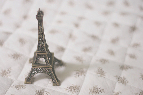 in the city of love…. ♥ paris :) Eiffel tower :)