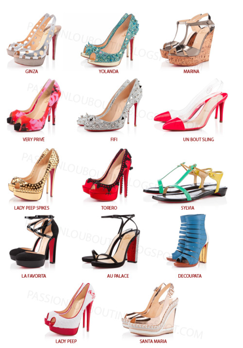 Now Available on the Christian Louboutin E-boutique