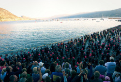 Ironman Swim Start