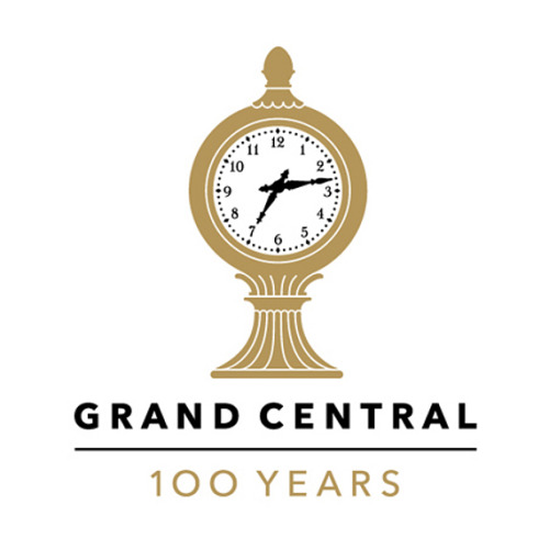 Grand Central Terminal Anniversary Logo by Pentagram