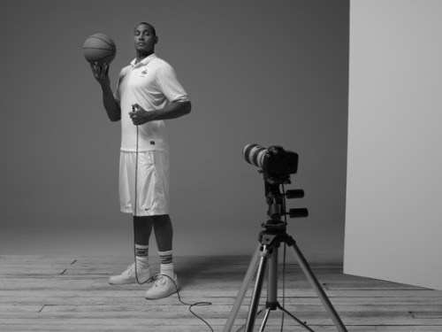 Nike – La Silhouette Blanche [Photos by Boris Diaw] French National Basketball Captain does photo shoot for Nike [Video]