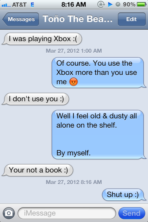 My boyfriend is an Xbox lover -_-